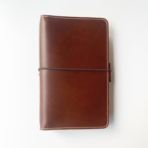 The Anastasia Everyday Organized Leather Traveler's Notebook