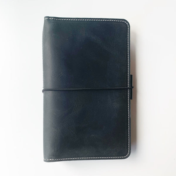 The Aurora Everyday Organized Leather Traveler's Notebook