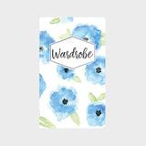 Blue Floral Errand Runner Journal Set