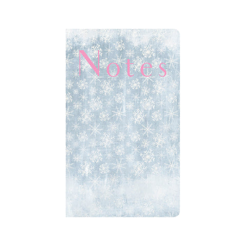 Blue Sky with Snowflakes Journal