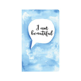 Blue Watercolor Affirmations Journal