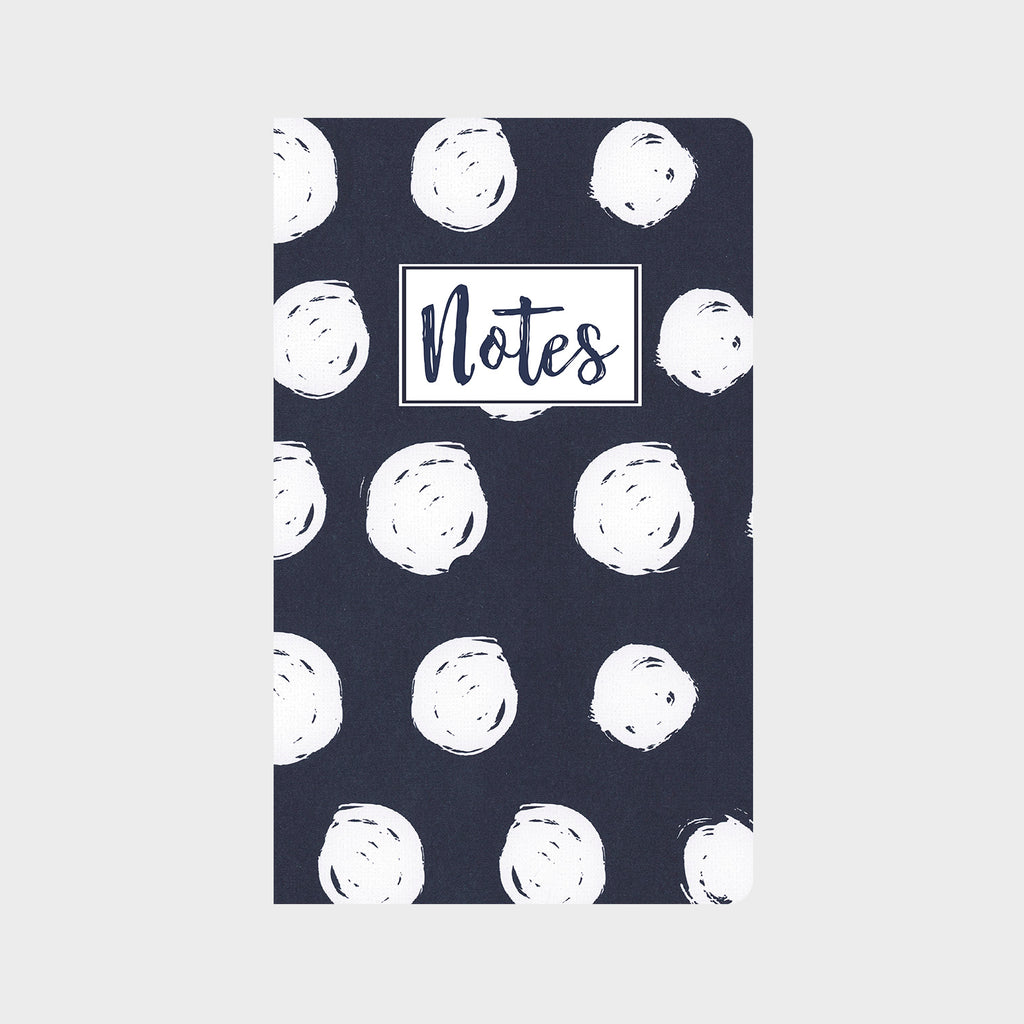 Blue & White Polka Dots Journal