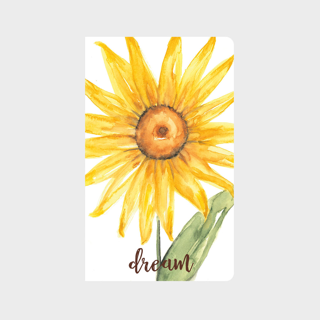 Bright Day Sunflower Journal