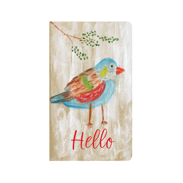 Bright Rainbow Bird Journal