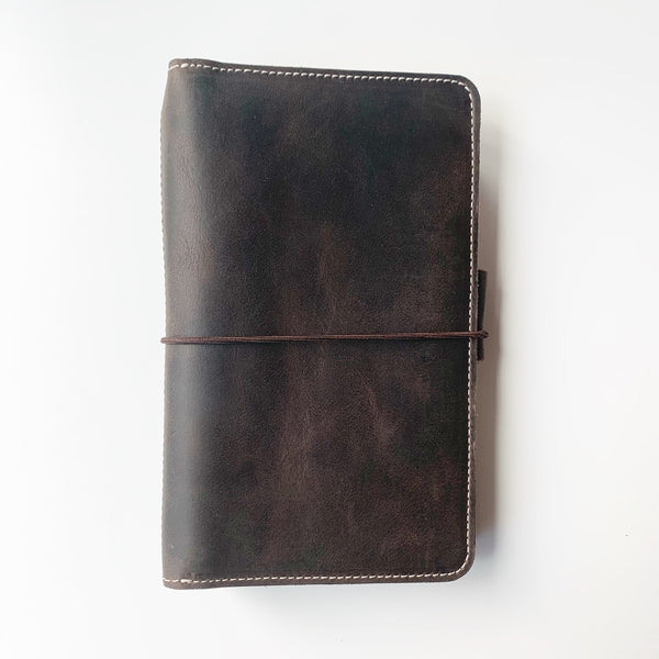 The Charlotte Out and About Leather Traveler's Notebook
