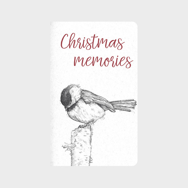 Chickadee Christmas Journal