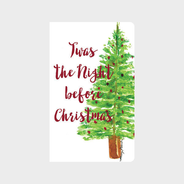 Christmas Tree in Watercolor Journal