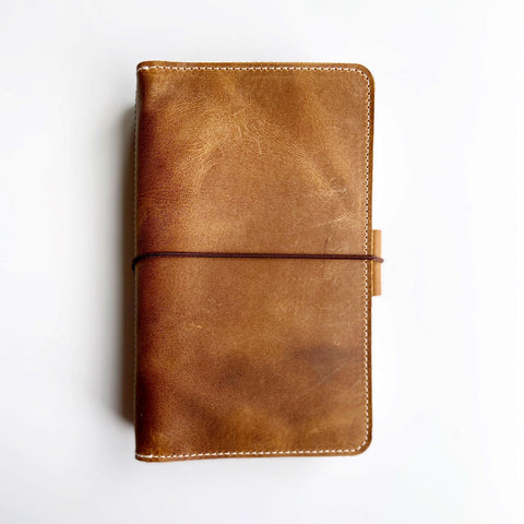 The Coco Out and About Leather Traveler's Notebook