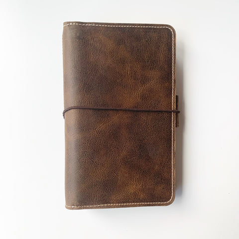 The Cora Everyday Organized Leather Traveler's Notebook