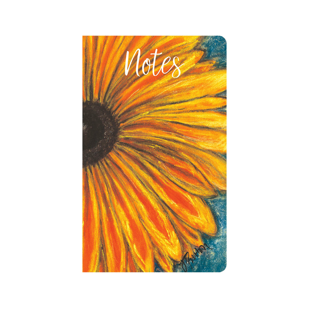 Corduroy Sunflower Journal