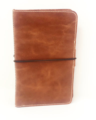 The Delilah Everyday Organized Leather Traveler's Notebook