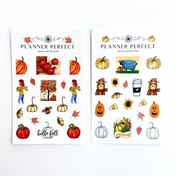 Fall in Love with Fall Sticker Collection