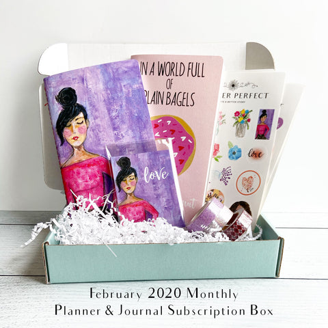 Planner Perfect Monthly Planner & Journal Subscription Box