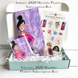 Planner Perfect Monthly Planner Subscription Box