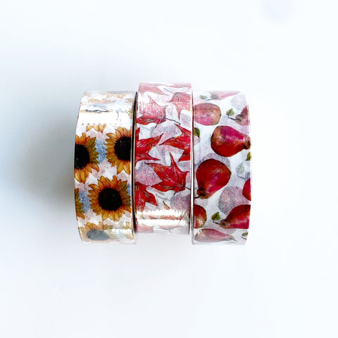 First Steps of Autumn Washi Tape Collection