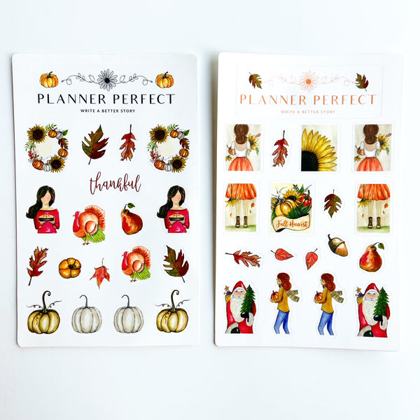 First Steps of Autumn Sticker Collection