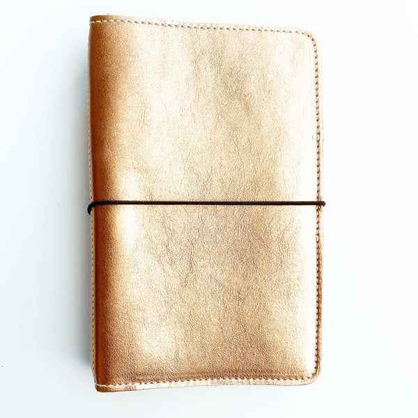 Francesca Everyday Organized Leather Traveler's Notebook