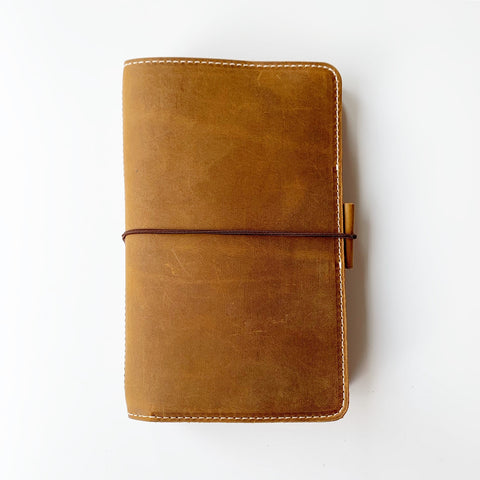 The Hazel Out and About Leather Traveler's Notebook