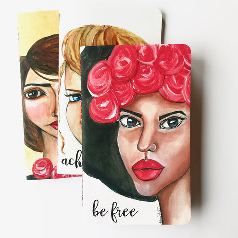 "Be Free eCourse with Personal Development ""Girls Collection"" Journals - Module One: Be Free"