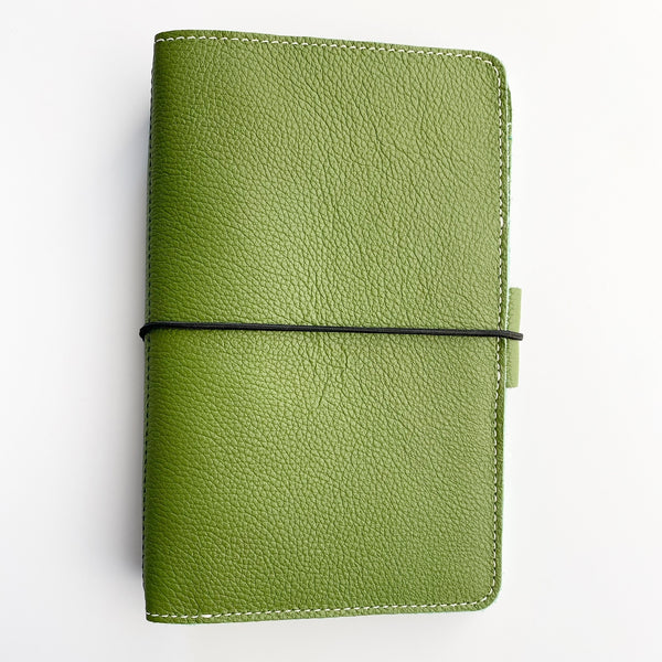 Jade Out and About Traveler's Leather Traveler's Notebook