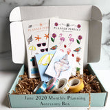 Planner Perfect Planning Accessory Monthly Subscription Box