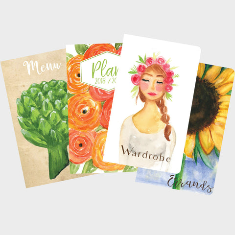 Lovely Lady Errand Runner Journal Set