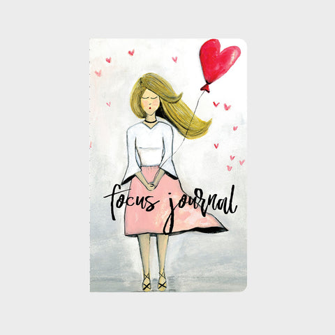 Lovely Lady w/ Heart Balloon Journal ©