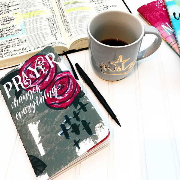 Coffee bible journal time