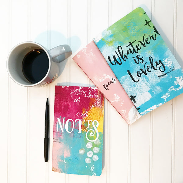 whatever is lovely journal book