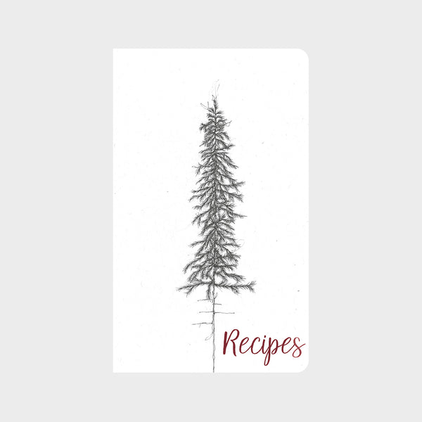 Vintage Pine Tree Christmas Journal