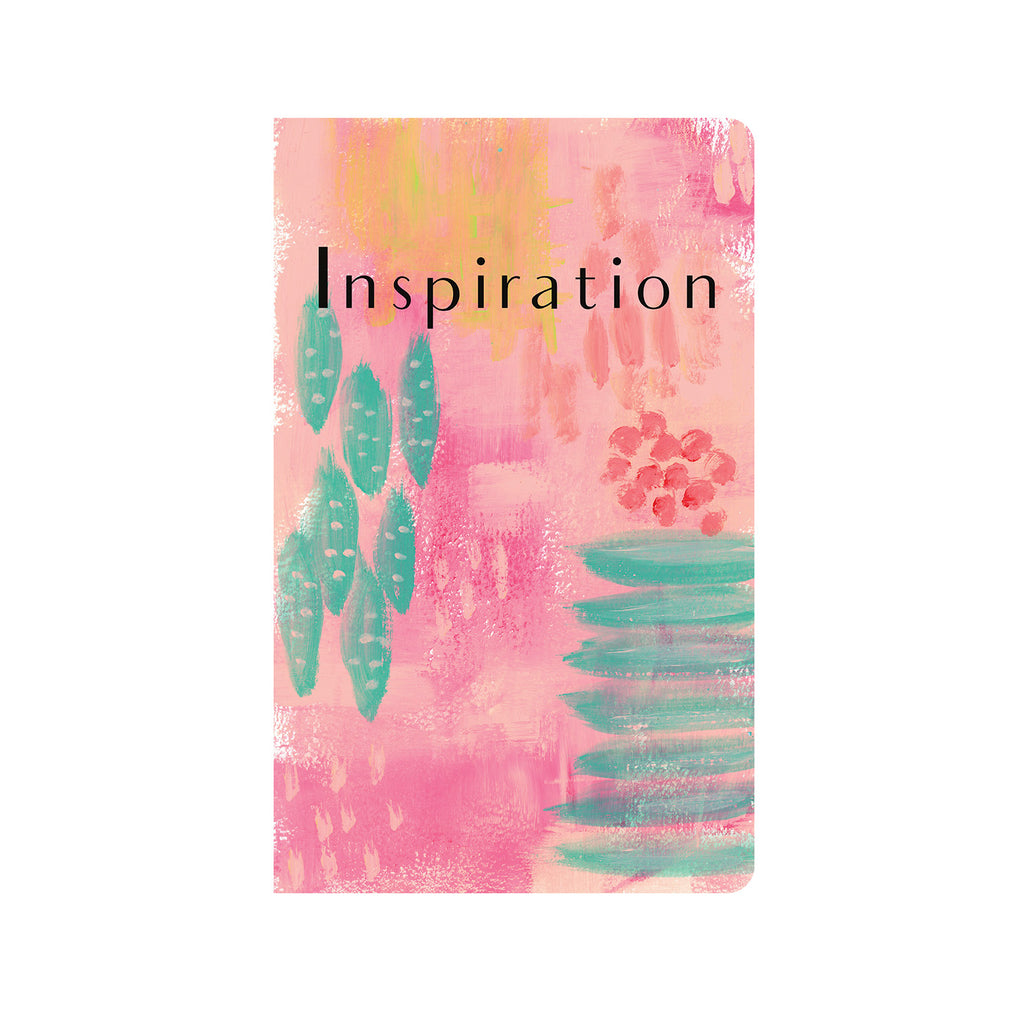 Pink & Teal Abstract Art Journal