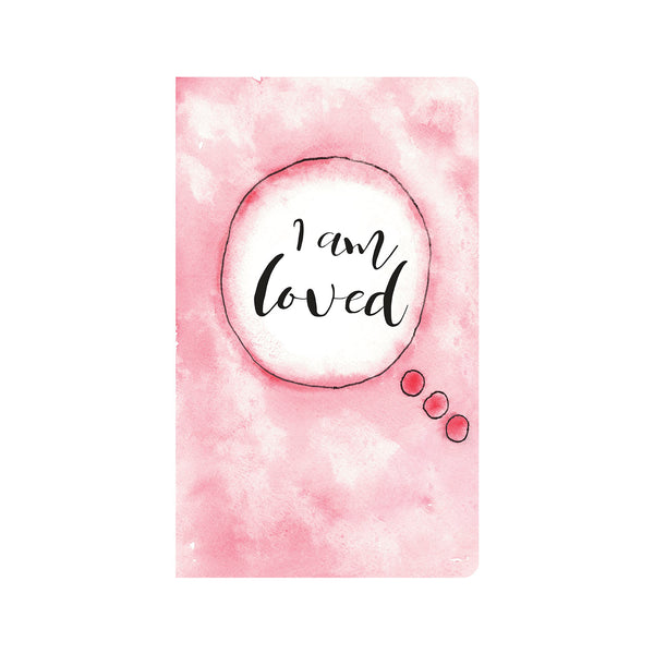 Pink Water Color Affirmations Journal