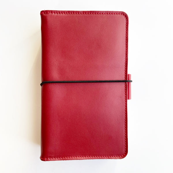 The Poppy Everyday Organized Leather Traveler's Notebook
