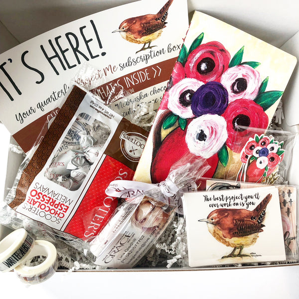 The Project Me Quarterly Subscription Box