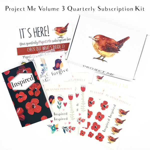The Project Me Quarterly Subscription Kit