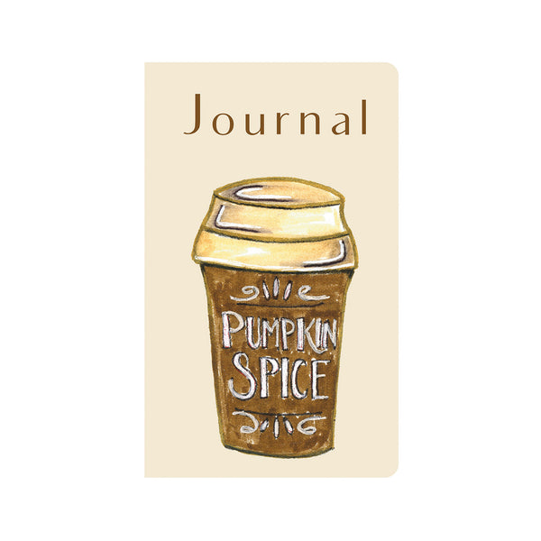 Pumpkin Spice Latte Journal