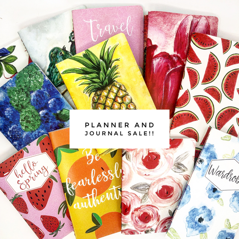 Planner & Journal Sale!