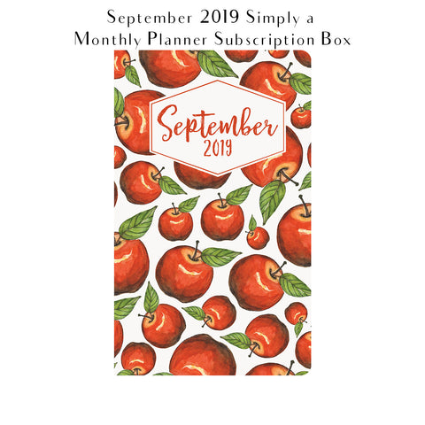 Simply a Monthly Planner Subscription