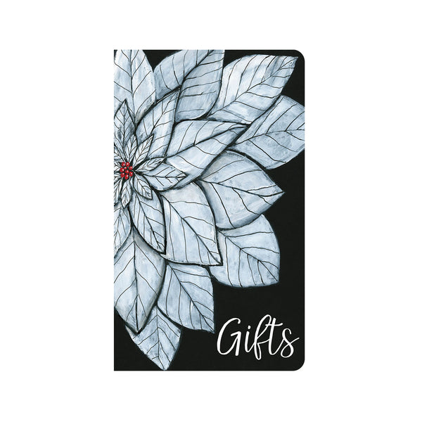 White Poinsettia Christmas Journal ©