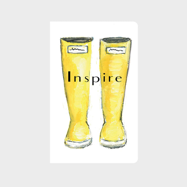Yellow Rain Boots Journal