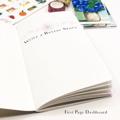 First Steps of Autumn Monthly Planner