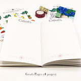 Holly Wreath Christmas Planner