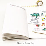 Apple Wreath Monthly Planner