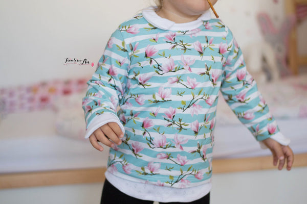 "⭐ SAHNESCHNITTE  - ""Layering Sweater for Girls"" - Schneiderline ⭐"
