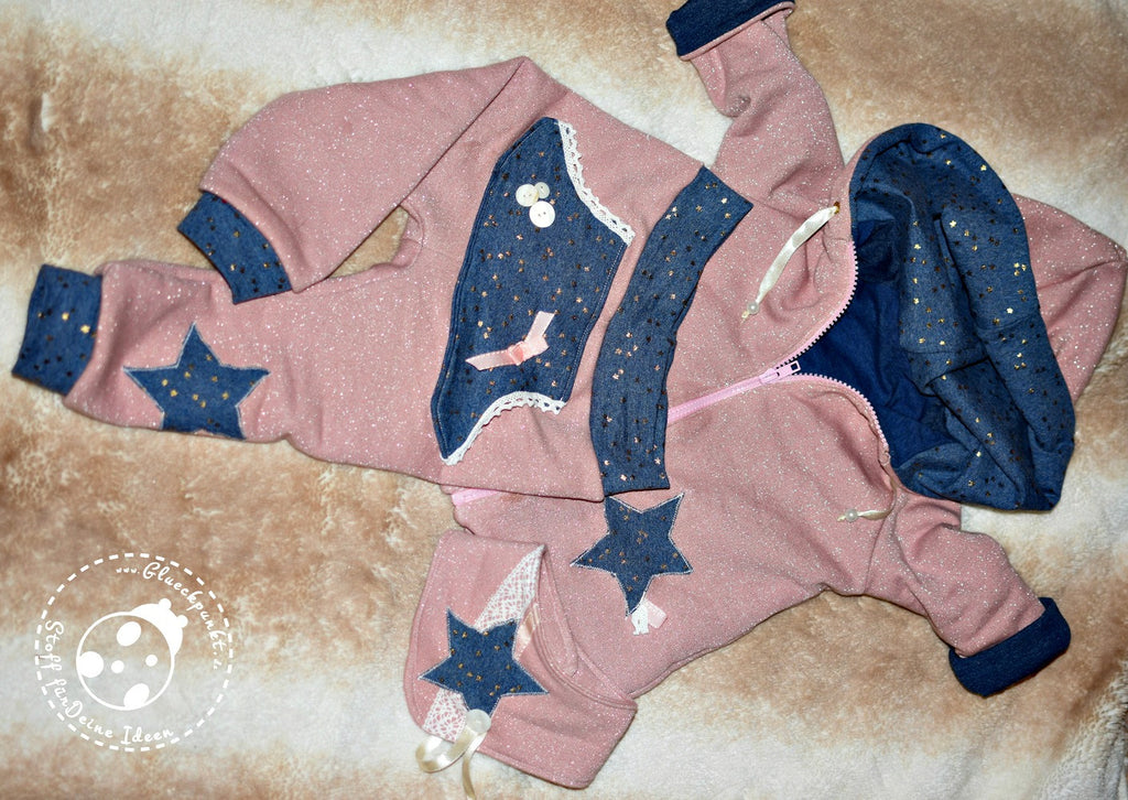 "*Designersweek - ""kleiner"" Freebook-Sunday - Babyjacke Ella, Little Star & Babyhalstuch Wonder*"