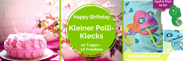 ⭐️ HAPPY BIRTHDAY - Kleiner Polli-Klecks ⭐️