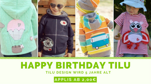 Happy Birthday - TiLu Design - Applikationen, Plotterdateien & Stickdateien - Applis ab 2,00€ - Geburtstagssause - Glückpunkt.