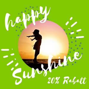 Happy-Sunshine-20% Rabatt