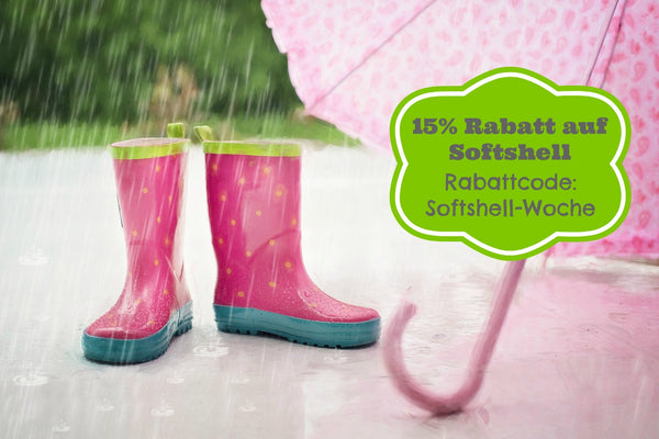 *Softshell-Woche - Pflegehinweise - For Boys and Girls*