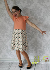 Designersweek - Engelinchen Design - eBooks - Nähen - Little Miss Fairy - Kleid - Tunika - Kinder -  Teens - Teenies - Jersey Jaro - Swafing - Little Dots - Little Darling - Glückpunkt.